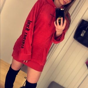 Juicy sweatshirt dress